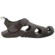 Crocs Swiftwater Sandal Mens Brown Water Shoes Sandals Trainers Size 7-13