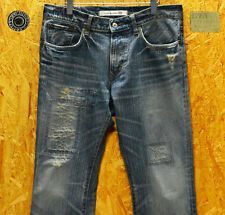 W34 Edwin 401XV  boot cut damage repair processing  Japanese Limited Edition