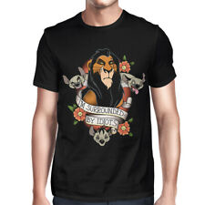 Scar I'm Surrounded By Idiots T-Shirt, Lion King Funny Disney Shirt