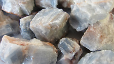 *2LB* BLUE Calcite Rough Stone 2 LB 1-2in C10 Healing Crystal Dreamwork Recall