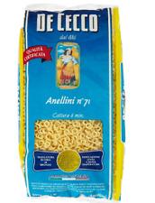 De Cecco Pasta Anellini - 3 pezzi da 500 g [1500 g]