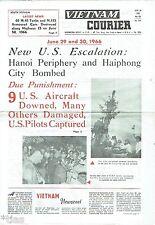 LE VIETNAM COURIER hebdomadaire No 65 du 30 June 1966 US Aircraft était