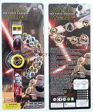 Star Wars Children Projection Watch Boy Girl Gift Toys 20 Patterns