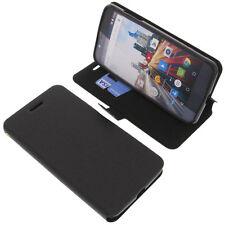 Tasche für Archos 55 Helium Ultra Smartphone Book-Style Schutz Hülle Handytasche