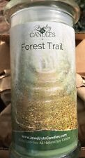 New JIC Jewelry in Candles Forest Trail Scent Soy Candle with Mens Size 12 Ring