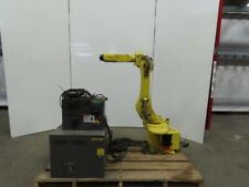 Fanuc M 6i 6 Axis Robot System Withrj2 Controller Amp Teach Pendent Calibrated