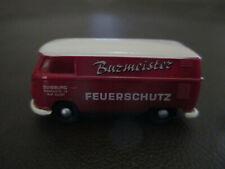 """BREKINA """"LIMITED EDITION"""" VW PANEL DELIVERY VAN BUZMEISTER FEUERSCHUTZ"""