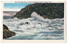 The BIG WAVE in WHIRLPOOL RAPIDS NIAGARA FALLS Vintage Postcard NY White Border
