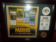 GREEN BAY PACKERS SUPERBOWL TICKET PICTURE (NEW)