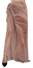 MAISON MARGIELA Skirt Beige Pink Wrap Mid Waist Side Slit IT40/US6/S RRP $500
