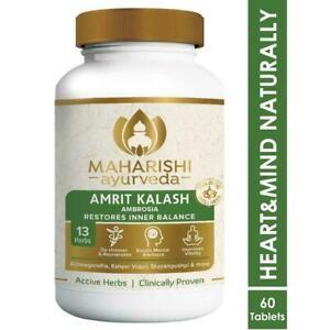 Maharishi Ayurveda Amrit Kalash MAK5 Ambrosia 60 Tablets Free Shipping