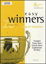 Easy Winners Trumpet Baritone Euphonium Trombone Music Book/CD
