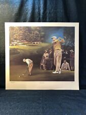 Byron Nelson Amy Youngblood 1937 Augusta National Masters Champion Lithograph