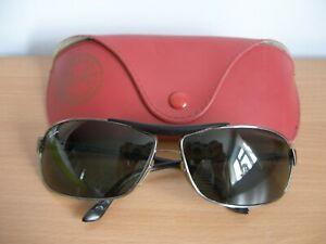 Ray Ban Aviator Shape Sunglasses & Case  -  (R89)