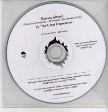 (CP966) The Great Depression, Forever Altered sampler - DJ CD