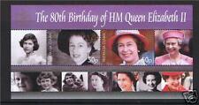 Tristan da Cunha 2006 Queens 80th Birthday MS SG864 MNH