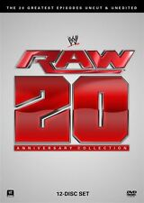 WWE - Raw 20 Anniversary Collection (DVD, 2013, 12-Disc Set) New  Region 4