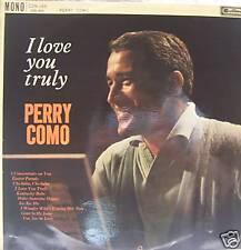PERRY COMO - I Love You Truly - Vinyl LP