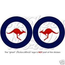 Australian AirForce RAAF Roundel Stickers Decals 75mm