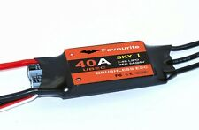 40A SBEC Brushless ESC - ELECTRONIC SPEED CONTROLLER                US VENDOR