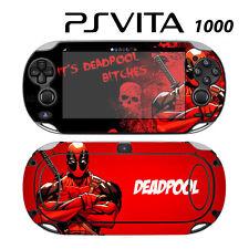 Vinyl Decal Skin Sticker for Sony PS Vita PSV 1000 Deadpool