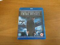 Total Recall Blu-ray (2012) Kate Beckinsale, Wiseman 2 discs set,free postage uk