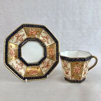 Antique Wedgwood Imari Teacup and Saucer Pattern Y1817