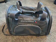 Sherpa Travel American Airlines Duffle Pet Carrier MediumCharcoal