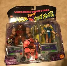 X-Men vs Street Fighter Figures Juggernaut vs Chun-Li Video Game Super Stars NEW