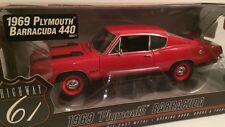 Highway61 1:18 1969 Plymouth  Barracuda 440