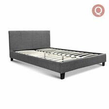 Artiss Bed Frame Headboard, Queen - Grey
