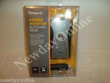 TARGUS 100W Auto/Airplane Slimline Power Inverter Car Charger w/USB APV1OUS1