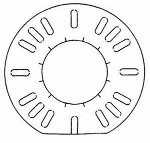 REPLACEMENT GASKET TO FIT BECKETT BURNER FLANGE; REPLACES BECKETT 3616