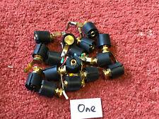 One black genuine TANNOY 4mm rear connector speaker speakers sockets (524)