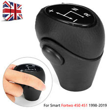 Car Automatic Leather Gear Shift Knob Lever For Smart Fortwo City Coupe 450 451