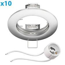 Marco empotrable Circ aluminio marco empotrable crómico mate (LED/Halogen/GU10/M