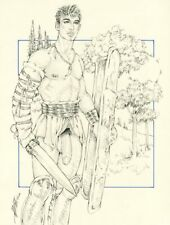 """Male Nude Gay Interest """"When In Rome"""" Original, NOT a copy by Mario Bieletto"""