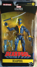 Marvel Legends Blue Deadpool Figure No BAF Strong Guy