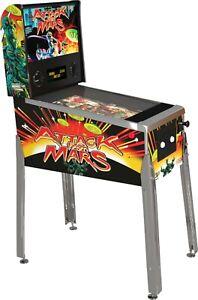 ATTACK FROM MARS Retro Arcade 1UP Virtual Pinball Machine Free Ship BALLY