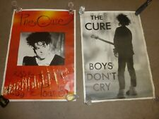 The Cure Robert Smith Kiss Me Boys Don't Cry Original Vintage Posters GENUINE