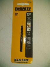 Dewalt Dw1106 3/32-Inch Black Oxide Split Point Twist Drill Bits (2-Pack)