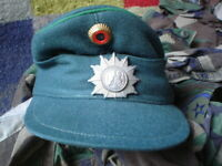 ORIGINAL GERMAN MILITARY CAP  SIZE 54 WITH BADGES  LINED SEE PICS