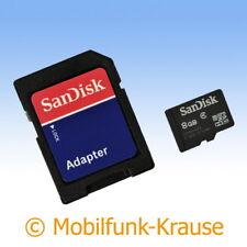 Scheda di memoria SANDISK MICROSD 8gb per Samsung gt-c5212/c5212