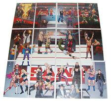 Boom Studios WWE 13 - 24 Wrestling Connecting Comics Variant Covers Set NM RAW