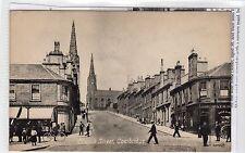 CHURCH STREET, COATBRIDGE: Lanarkshire postcard (C18232)