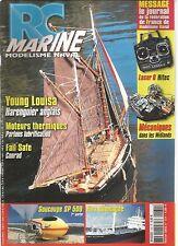RC MARINE N°131 YOUGN LOUISA HARENGUIER ANGLAIS / MOTEURS THERMIQUES / SOUCOUPE