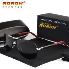 AORON-Polarized-Men's-Sunglasses-Sports-Eyewear-Aluminum-UV400-Driving-Glasses