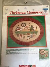 New listing Christmas Memories Count cross stitch kit. Dimensions. Country shelf