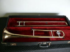 Reynolds Trombone with case. Missing mouthpiece.