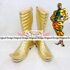JoJo's Bizarre Adventure 3 DIO BRANDO Boot Party Shoes Cosplay Boots Custom-made